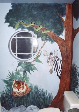 Custom Made Wildlife Mural