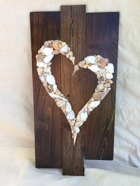 Custom Made Seashell Heart.