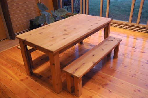 Custom Made Harvest Table