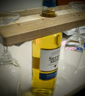 Custom Made Custom Table Top Wine Holder