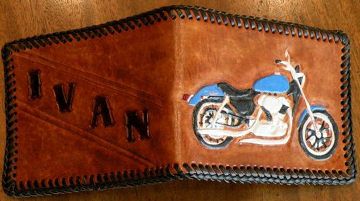 Custom Made Mans Wallet