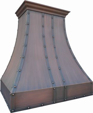 Custom Made Signature Copper Range Hood 48""