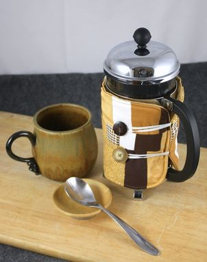 Custom Made French Press Coffee Accessory