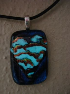 Custom Made Glow In The Dark Heart Pendant
