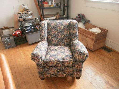 Custom Made Rare Antique Rocking Chair