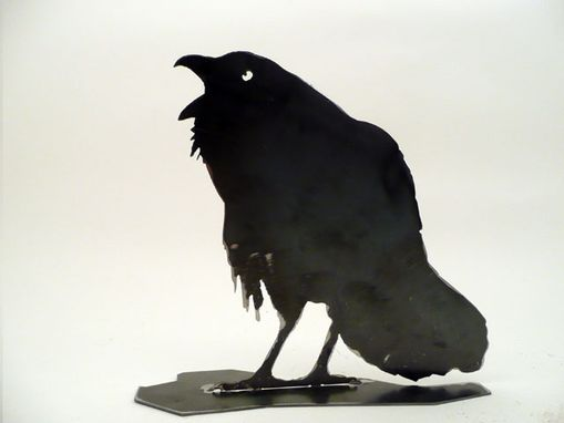 Custom Made Crow/Raven Metal Silhouette