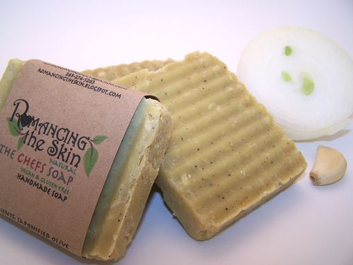 Custom Made The Chefs Handmade Lye Soap (Vegan & Gluten Free)