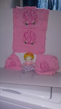 Custom Made Personalized Baby Girl Gift
