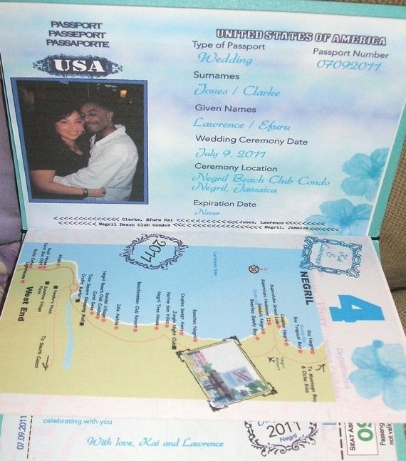 Pport Wedding Invitations Cobypic