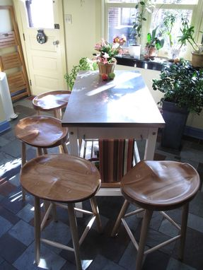 Custom Made Saddle Seat Stools