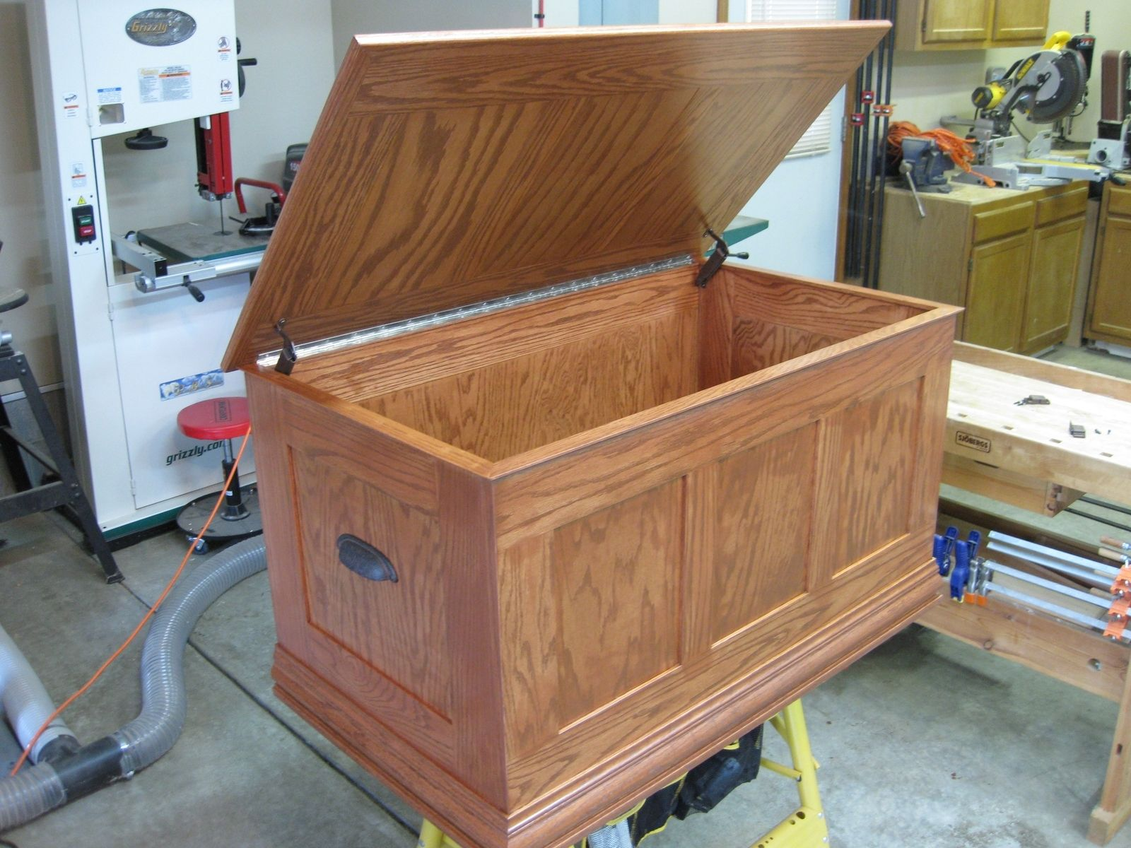 Handmade Oak Toy Chest by O'Donnell Woodcraft | CustomMade.com