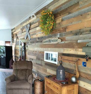 Custom Made Reclaimed Wood, Reclaimed Wood Panel, Reclaimed Wood Wall Paneling