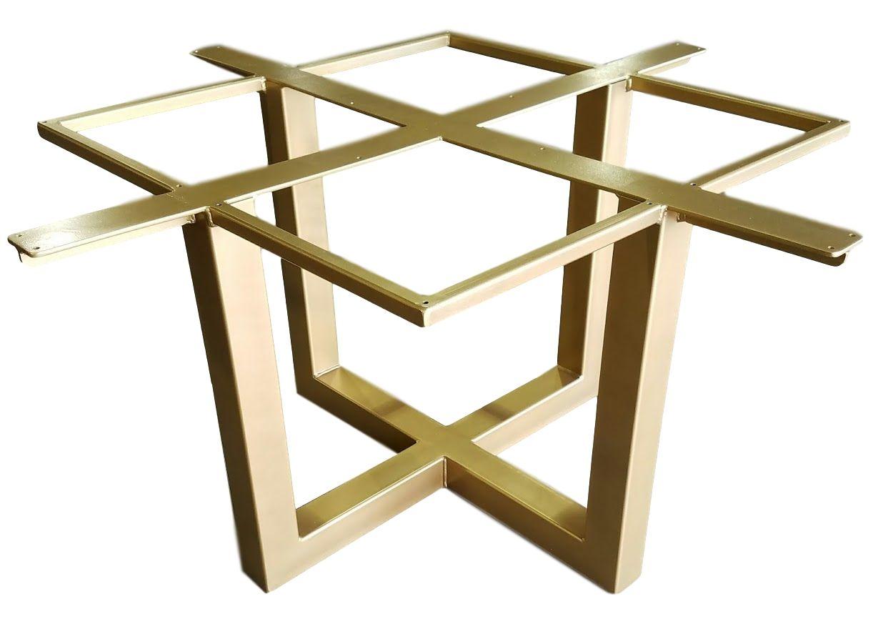 metal pedestal table base. Custom Made Metal Pedestal Table Base (Deacon)