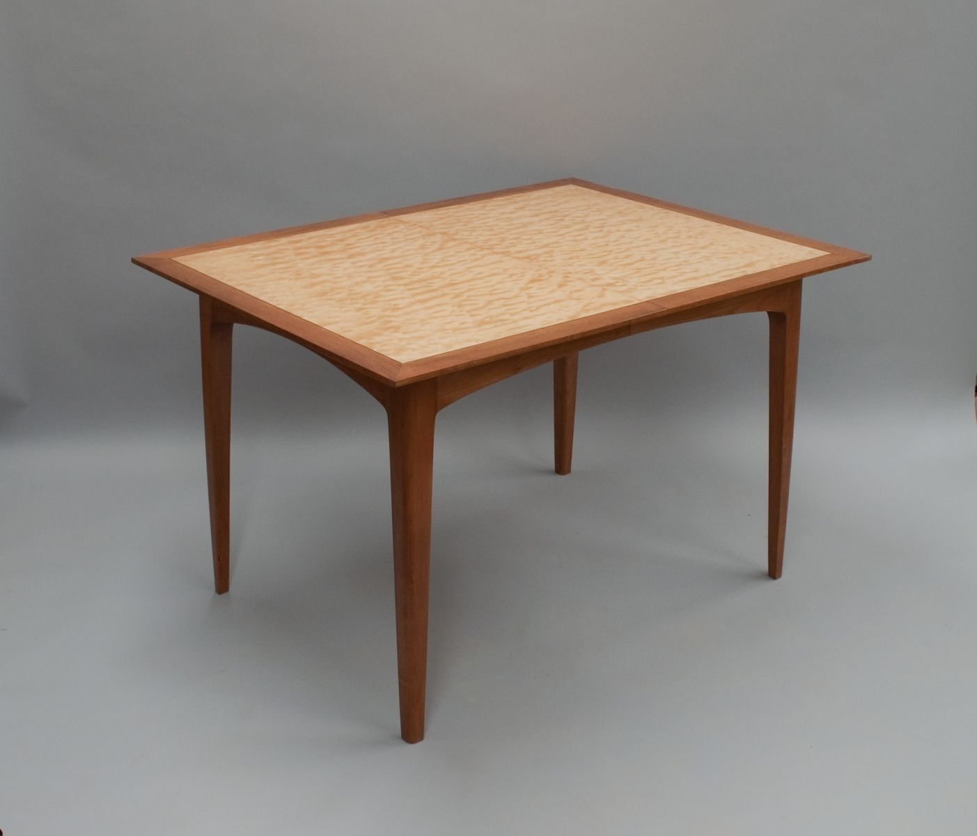 custom made mid century modern tablecherry brook