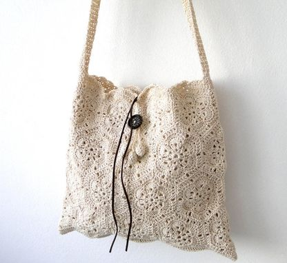 Custom Made Retro Crochet Handbag
