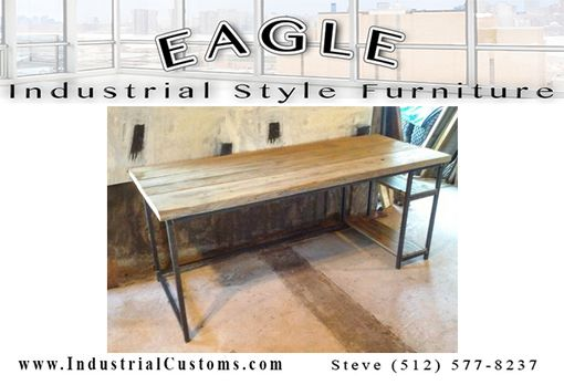 Custom Made Industrial Style Desk