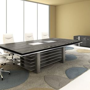 Custom Made Concrete Conference Room Table By Tables Usa