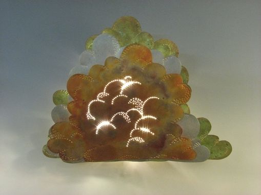 Custom Made Cloud Sconce