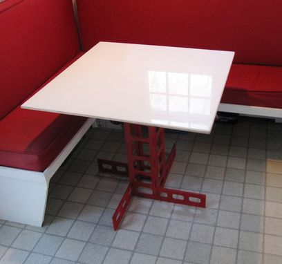 Custom Made Cafe Table