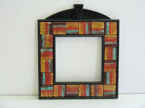 Custom Made Mirrors With Handmade Glass Tiles