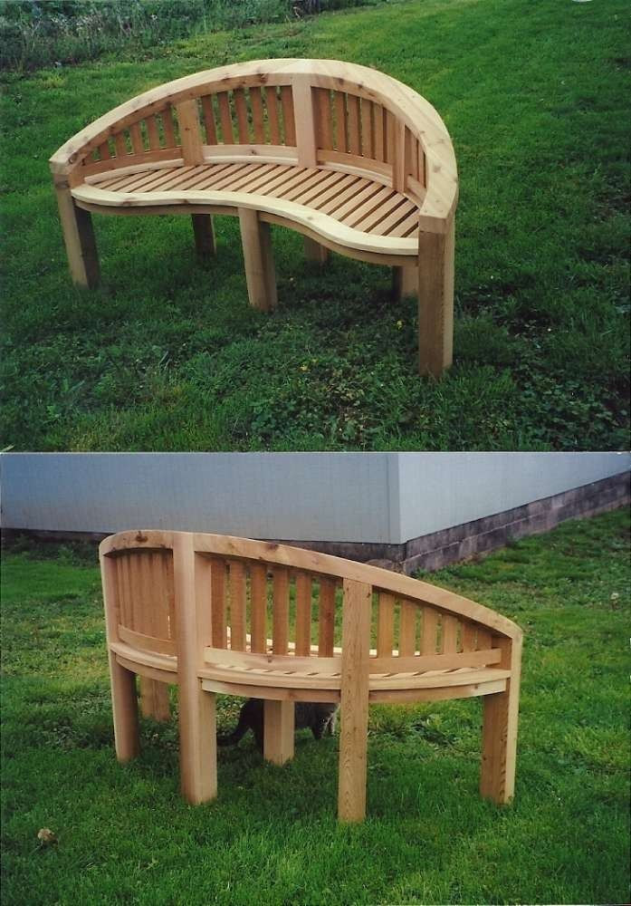 Tremendous Hand Crafted Cedar Garden Bench By Rustic Cocoon Bralicious Painted Fabric Chair Ideas Braliciousco