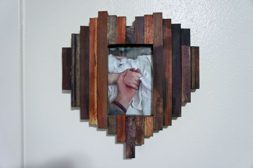 Custom Made Heart Picture Frames