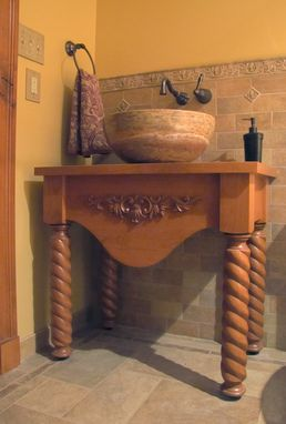 Custom Made Alder Vanity