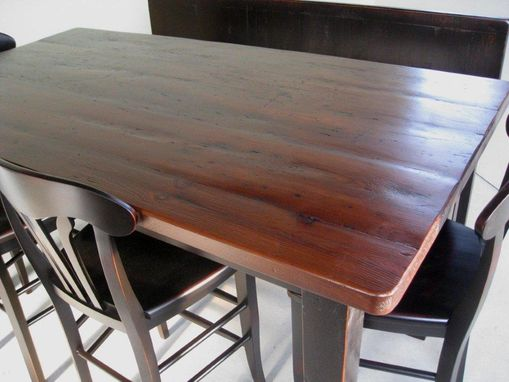 Custom Made Pub Kitchen Table