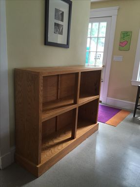 Custom Made Oak Bookcase