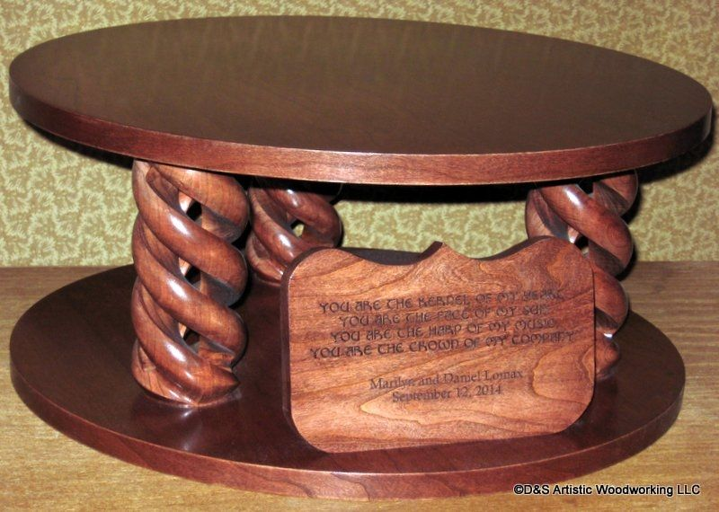 custom made wedding cake stands custom made cherry wedding cake stand by d amp s artistic 13216
