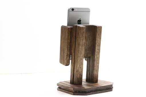 Custom Made Woodwarmth Rotating Iphone 6+ Stand