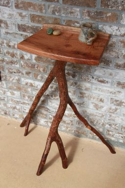 Custom Made Natural Entryway Side Table