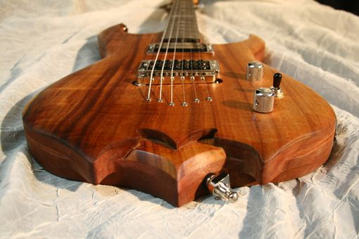 "Custom Made Chris Pervelis Of ""Internal Bleeding"" Signature 'Cuda' Triton"