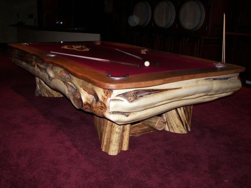 Custom Made Custom Billiard Table
