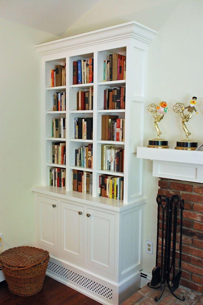 handmade shaker style living room bookcasesjohn samuel custom