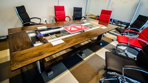 Custom Made Custom Contemporary Eclectic Conference Table