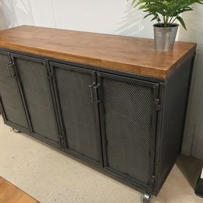 industrial office credenza by sean dineen brooklyn industrial office