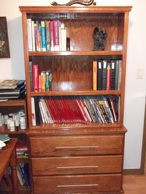 Custom Made Office Book Shelf
