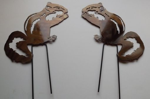 Custom Made Chipmunk Wall Sculpture