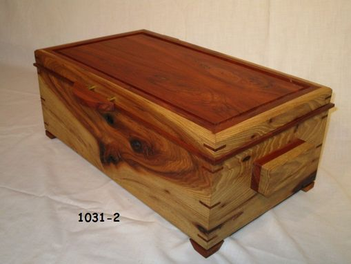 Custom Made Custom Hickory And Cherry Box