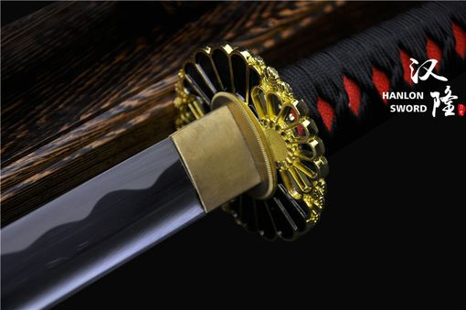 Custom Made Hand Forged 1060 High Carbon Steel Blade Full Tang Samurai Katana Sword