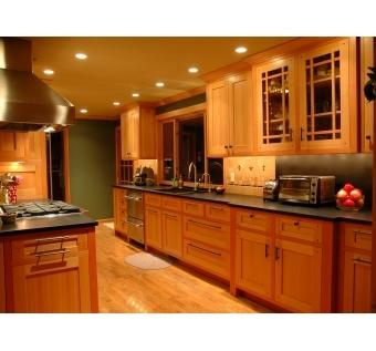 Custom Made Vg Fir Kitchen