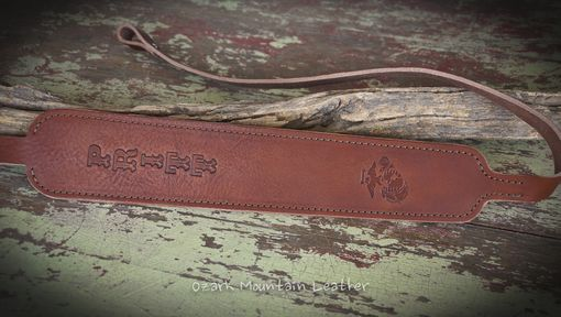 Custom Made Custom Leather Rifle Sling