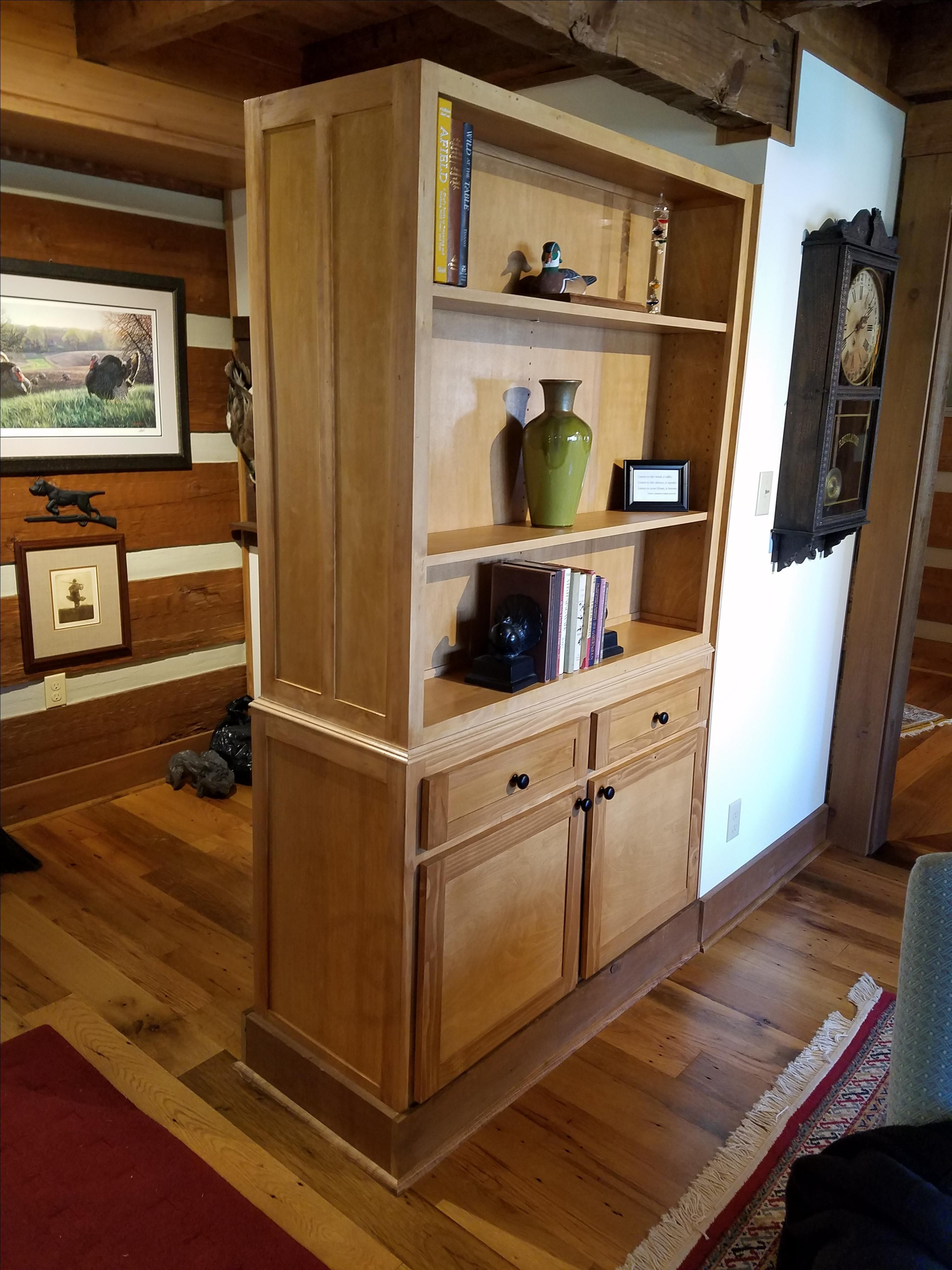 Handmade Cabinet With Double Sided Shelving by Blue Ridge ...
