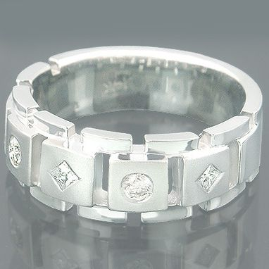 Custom Made Designer Mens Rings Collection Piece