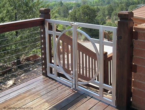 Custom Made Contemporary Metal Gate
