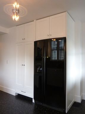 Custom Made Custom Black And White Kitchen