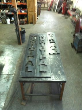 Custom Made Steel Signs