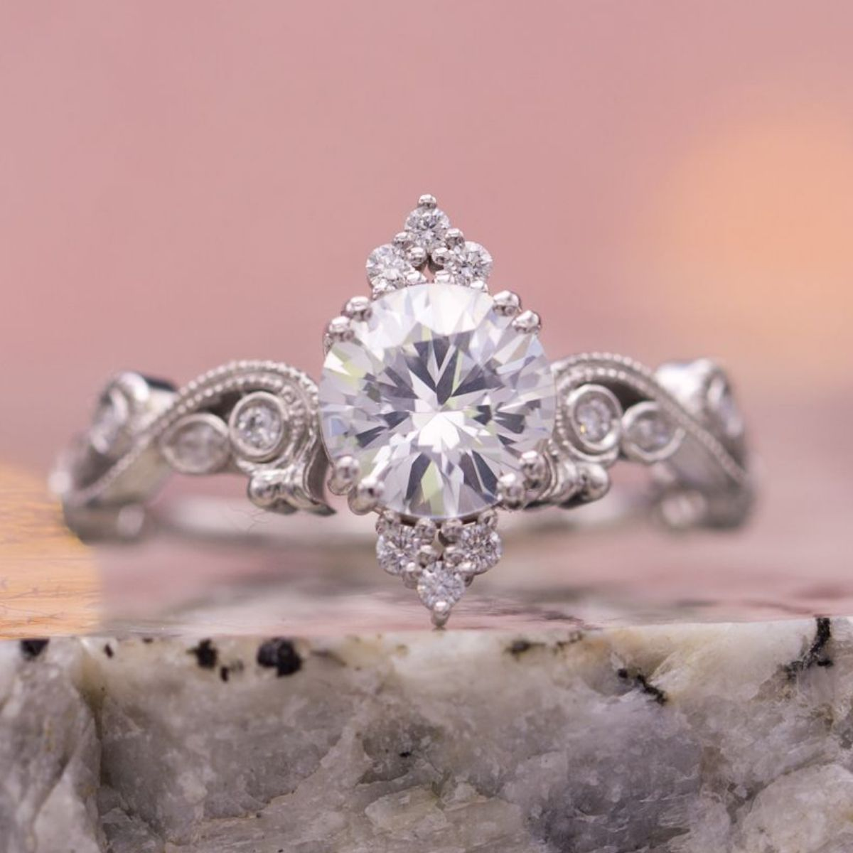 Sapphire Engagement Rings | CustomMade.com