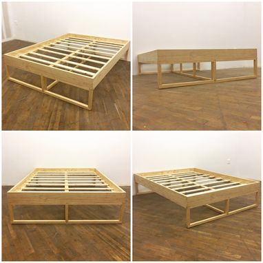 Custom Made Minimalist Platform Bed
